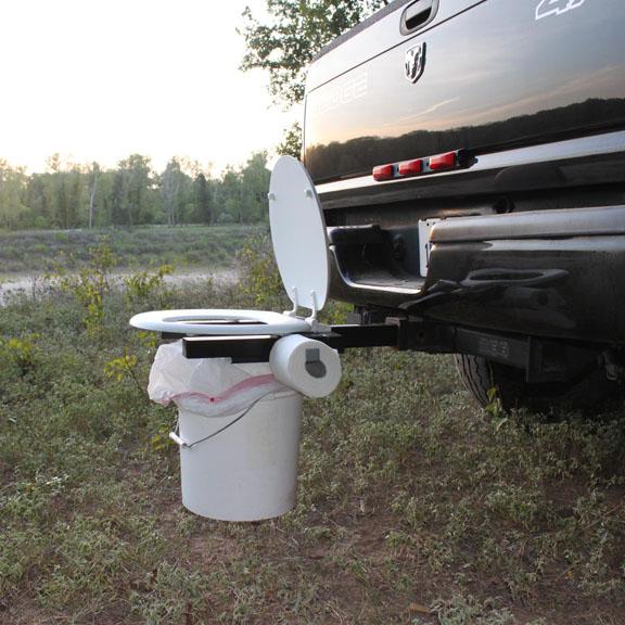 Portable Toilet For The Outdoorsman