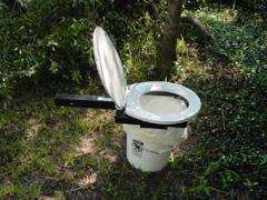 Camping Toilet Bumper Dumper Portable Hunting